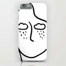 rainy soul iPhone Case