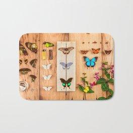 Butterfly Collector Bath Mat
