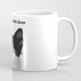 bully kitten i look upon you with favor Coffee Mug