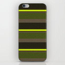 Cactus Garden Stripes 5H iPhone Skin