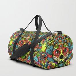 Cute Skull Dia de Los Muertos Duffle Bag