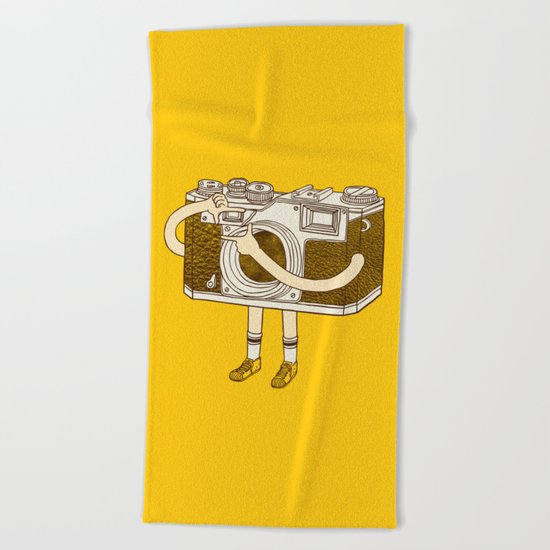 Photographer Beach Towel