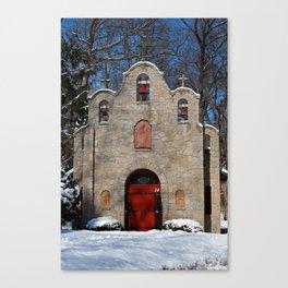 Portiuncula Chapel in Winter III Canvas Print