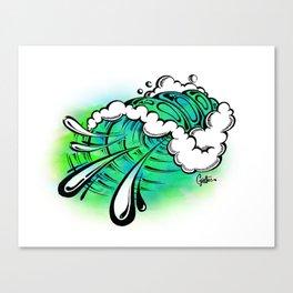 Bubbler Canvas Print