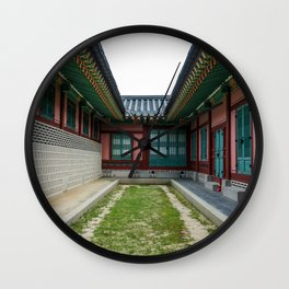 The Path Ends Here Wall Clock