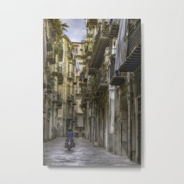 Old City Lane Metal Print