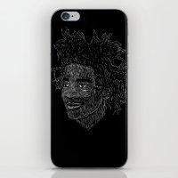 basquiat iPhone & iPod Skins featuring Basquiat by William
