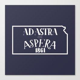 Ad Astra per Aspera Canvas Print