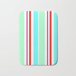 Stripes in colour 2 Bath Mat