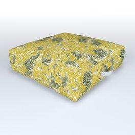 Yellow Mimosa Outdoor Floor Cushion