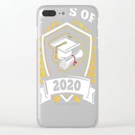 Class-of-2020---Class-of-2020-Graduation-T-Shirt Clear iPhone Case