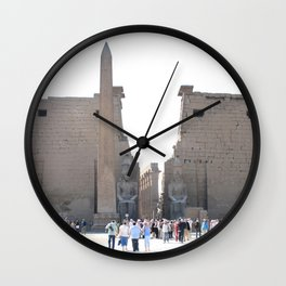 Temple of Luxor, no. 10 Wall Clock
