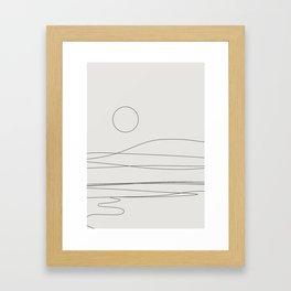 Abstract Landscape 15C Framed Art Print