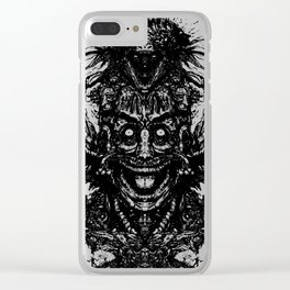A Mad Mans Mysteries Clear iPhone Case