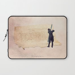 The signer Laptop Sleeve