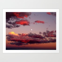 Utah Sunset Art Print