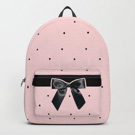 Black Tie Affair: Pink Backpack