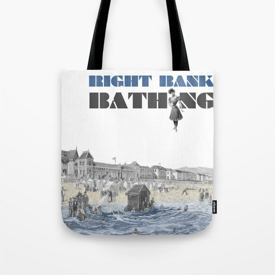 Right bank bathing Tote Bag