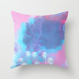 SUMMER WAVES II Throw Pillow