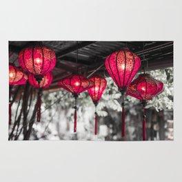 Lanterns of Hoi An IV Rug