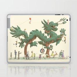 The Night Gardener - The Dragon Tree Laptop & iPad Skin