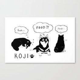 Koji Canvas Print
