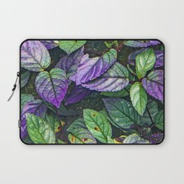 Colorful Leaves on Hiking Forest Path Laptop Sleeve
