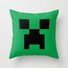 Creeper Throw Pillow