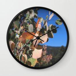 Aspen Leaves, Colorado Wall Clock