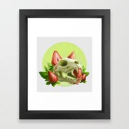 Strawpurry Framed Art Print