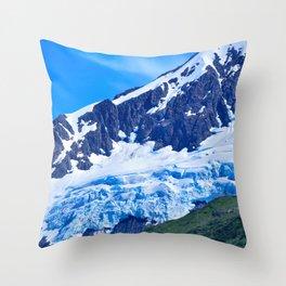 Whittier Glacier - I Throw Pillow