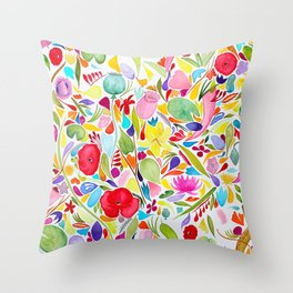 Meditation on Giverny II Throw Pillow