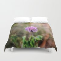 pain Duvet Covers featuring PINK PAIN. by SoNearlyOriginal