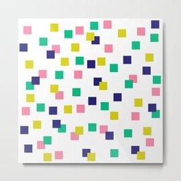Cubez 01 Metal Print