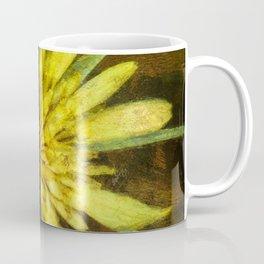 Wildflower ~ Goatsbeard ~ Tragopogon dubius ~ Ginkelmier Inspired Coffee Mug