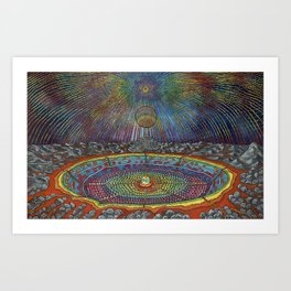 A Window to the Universe Art Print