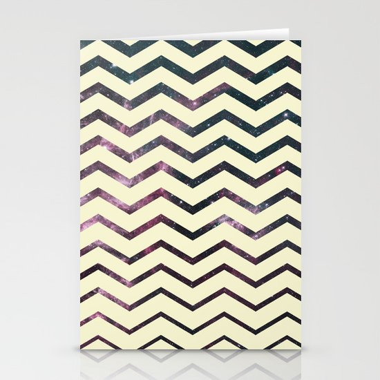 Cosmic Zag Stationery Cards