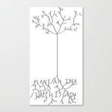 Idea Tree Canvas Print