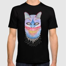 What's new pussycat? Mens Fitted Tee Black MEDIUM