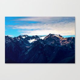 Mt. Olympus, Olympic National Park, Washington Canvas Print