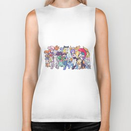 Illustration anime Biker Tank