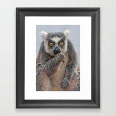 How You Doing ???? Framed Art Print