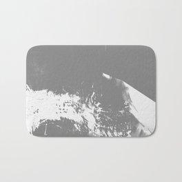 White Mountain #Abstract Bath Mat