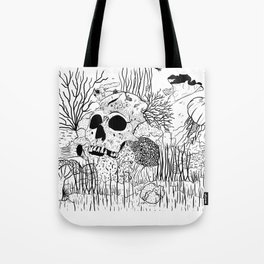 Down where it's wetter Tote Bag
