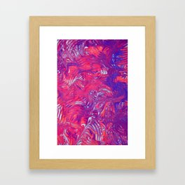 Hot and Cold Framed Art Print