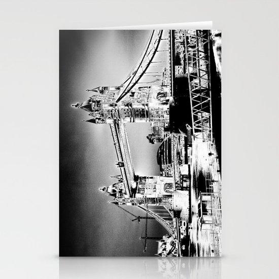 Tower Bridge Art Stationery Cards