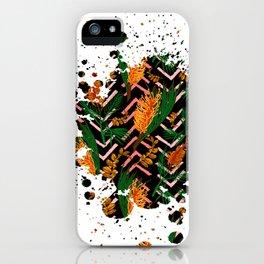 Australian Native Floral Graphic Print iPhone Case