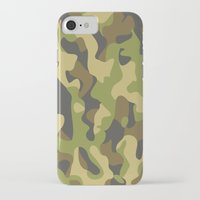 military iPhone & iPod Cases featuring Military Pattern by Crazy Thoom