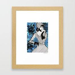 Lirios Framed Art Print