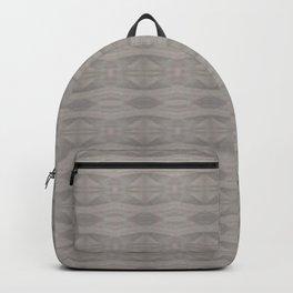 Elegant Gray Geometric Southwestern Pattern - Luxury Fabric - Corbin Henry Backpack